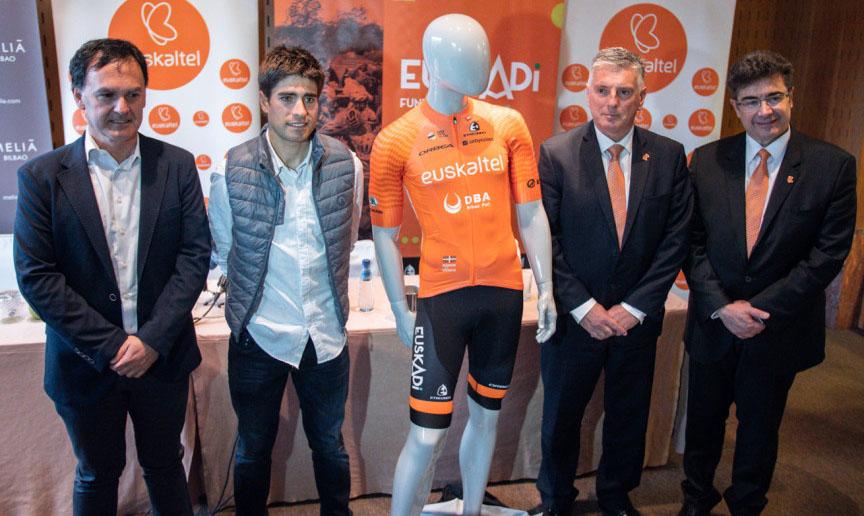 Euskaltel vuelve al ciclismo como patrocinador principal de Fundacion-Orbea