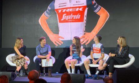 Trek-Segafredo presenta las camisetas 2020