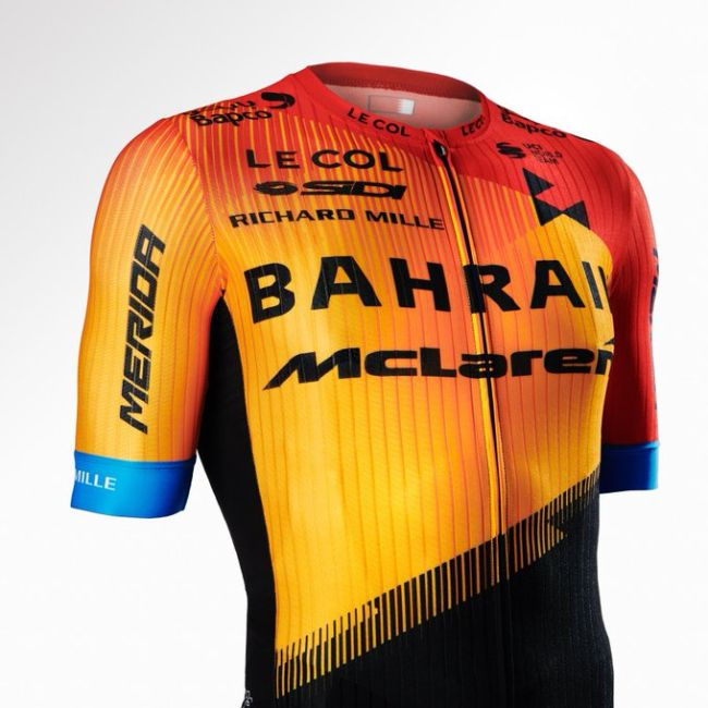 Team Bahrain Merida dio a conocer sus nuevos colores 2020
