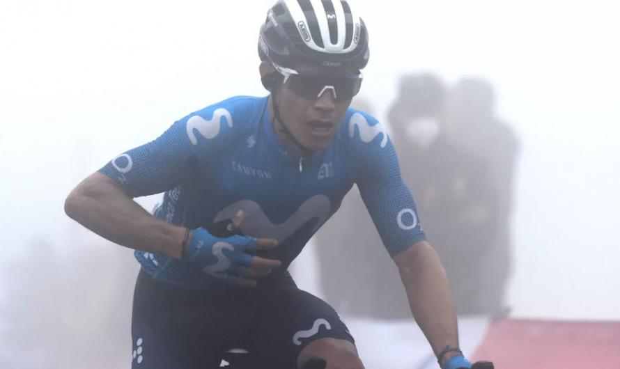 «Decidí dejar de pelear» -se disculpó Miguel Ángel López y explicó la decisión de abandonar Vuelta y España