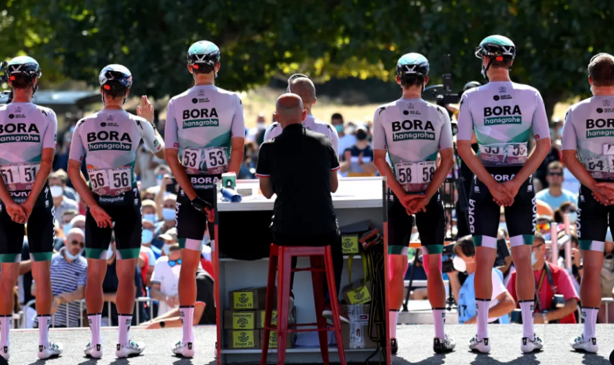 Bora- Hansgrohe usará kits de Le Col en la temporada 2022
