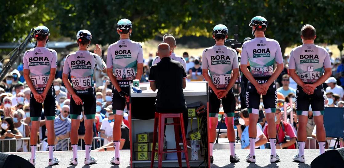 Bora-Hansgrone ropa ciclismo