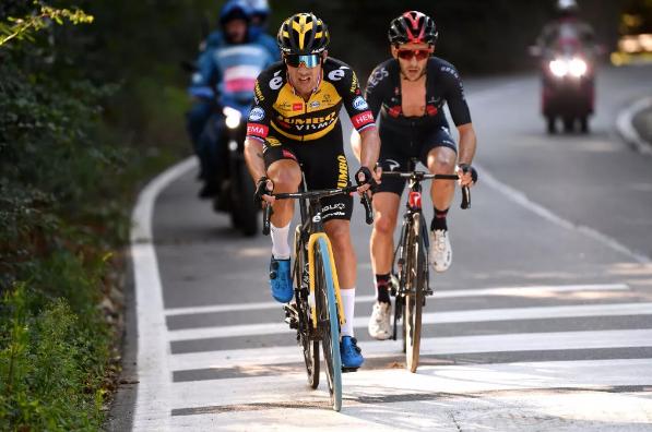 Primus Roglich: Ha sido una temporada larga, pero Il Lombardy sigue siendo importante para mí